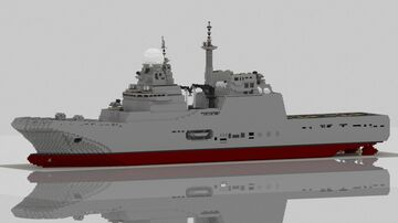 Tank Landing Ship - project 20204.1 Phu Quoc Island Minecraft Map & Project