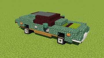 Ford Gran Torino Minecraft Map & Project