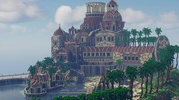 [Oasis - Palm art castle] Turkey BY BekirAytas Minecraft Map & Project