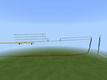 R.M.S Titanic 2:1 scale build Minecraft Map & Project