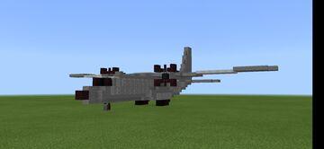 CASA CN-235 1.5:1 scale Minecraft Map & Project