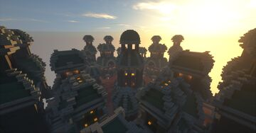 MetalCraft PvP Arena Minecraft Map & Project