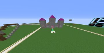 Castle for Build Contest Minecraft Map & Project