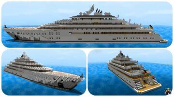 Minecraft Super Yacht Tutorial (Golden Odessey) Minecraft Map & Project