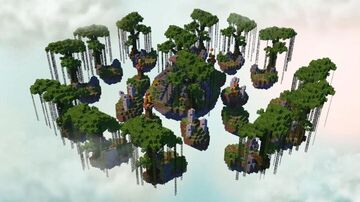 Jungle Skywars ► Moddragon Minecraft Map & Project