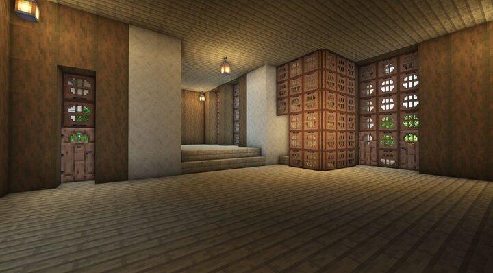 Bottom Floor Interior Map & Schematic download
