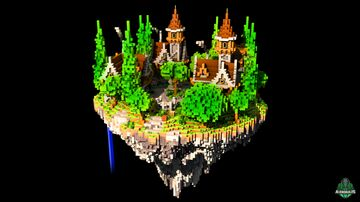 ⭐ EXCLUSIVE ⭐ Chxrya Lobby - AliensBuilds 🏡 Minecraft Map & Project
