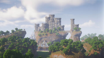 SOUTH KINGDOM - WHITE CITADEL Minecraft Map & Project