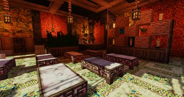 Mountain Mansion - Sauna and Spa Minecraft Map & Project