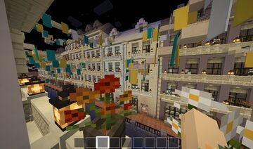 european inspired city streets Minecraft Map & Project