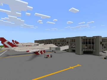 International Airport v0.1 Minecraft Map & Project