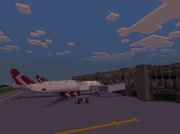 St. George International Airport - Terminal 3 Minecraft Map & Project