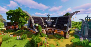 Roguemoor - Custom village build series Minecraft Map & Project