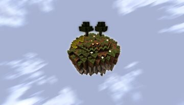 SkyBlock Island Minecraft Map & Project