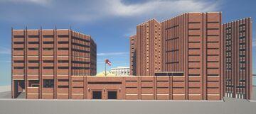 Correctional Center | Jail - Alhutopian project Minecraft Map & Project
