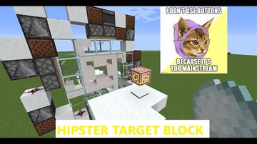 Target block for HIPSTERS - Minecraft 1.16.1 Minecraft Map & Project