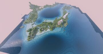Gall projection earth map. Minecraft Map & Project
