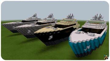 Minecraft Charter Super Yacht Tutorial Download Minecraft Map & Project