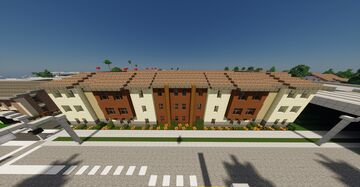2000's Condominium, Greenfield, whitestone Minecraft Map & Project