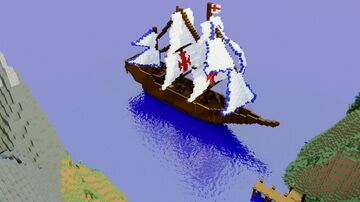 Templar Ship Minecraft Map & Project