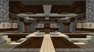 Nether Hub at 500K Blocks (Overworld) Minecraft Map & Project