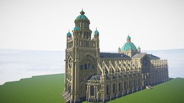 Eclectic Baroque Cathedral Minecraft Map & Project