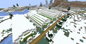 Scarecrow Arsenal Estates - Snow - Gamer Haha's Survival Map #2 (Snow Village) Minecraft Map & Project