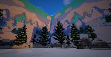 Snowly Pot Pvp Arena Minecraft Map & Project