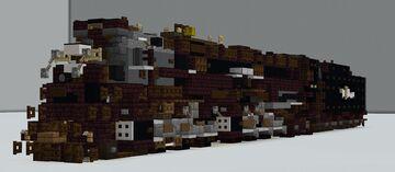 Rio Grande 4-6-6-4 Challenger Minecraft Map & Project