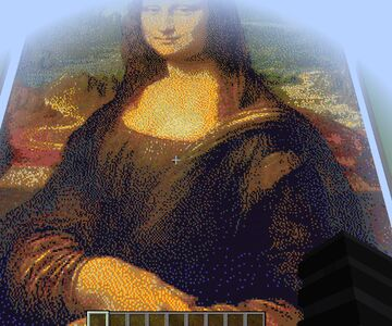 Mona Lisa Picture Minecraft Map & Project