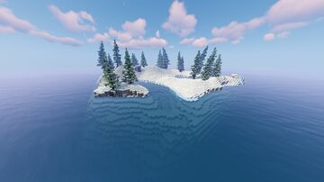 Snowy Island Minecraft Map & Project