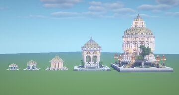 Upgrade to a tempel, dome build Minecraft Map & Project