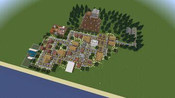 GTA 5 Paleto Bay Minecraft Map & Project