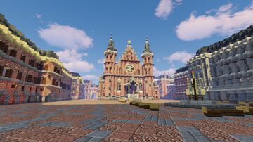 Binnenhof Netherlands (1:1) Minecraft Map & Project