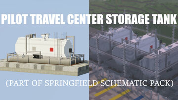 Pilot Travel Center Storage Tank (Download) Minecraft Map & Project