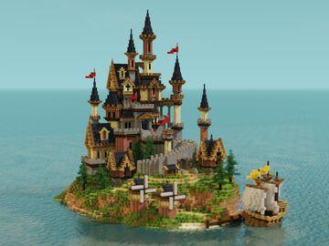 Little Island Minecraft Map & Project