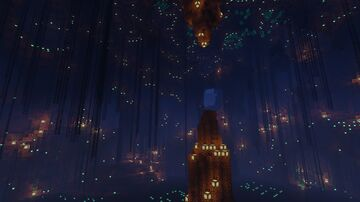 Crystal Caverns Minecraft Map & Project