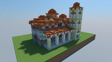 Monestary of Pantanassa Mystras Minecraft Map & Project