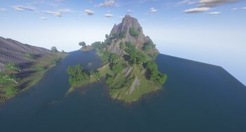 Great Andorian Mountain River 2 Minecraft Map & Project