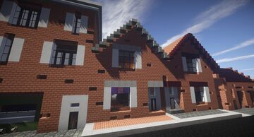 My 1920s Dutch Home. Minecraft Map & Project