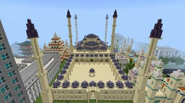 Blue mosque Minecraft Map & Project