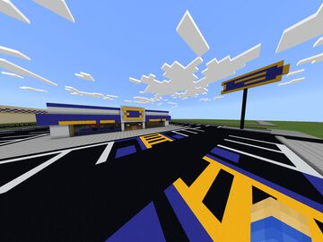 The OG Blockbuster Video Store Minecraft Map & Project