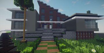 Modern House #46 Map + Schematics Minecraft Map & Project