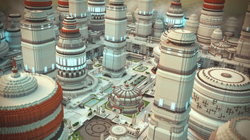 Bespin Cloud City StarWars Minecraft Map & Project