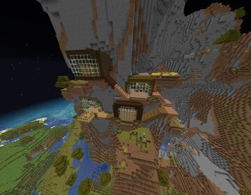 Minecraft Mountain Survival House Map Minecraft Map & Project