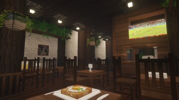 Minecraft | Pub/Bar interior design Minecraft Map & Project