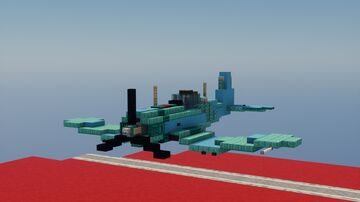 F4U-1A corsair Minecraft Map & Project
