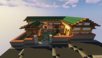Traditional Hanok Minecraft Map & Project