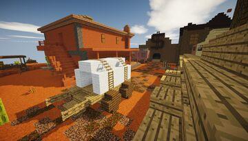 Wild West (mini server) Minecraft Map & Project