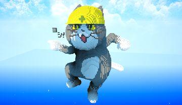 GENBA NEKO【Japan cat  character】 Minecraft Map & Project